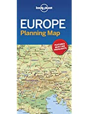 Lonely Planet Europe Planning Map 1 1st Ed.: 1st Edition