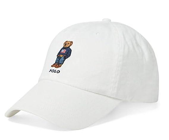 d01da7f63fbe1f Amazon Com Polo Ralph Lauren Men S Polo Bear Skier Adjustable