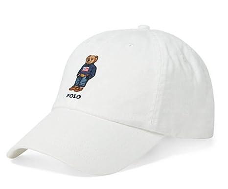 Ralph Lauren Hombres Polo del Oso de Peluche del Sombrero del ...