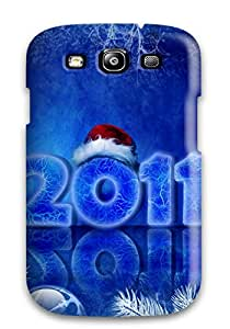 Galaxy Case - Tpu Case Protective For Galaxy S3- 2011 Christmas New Year 8577729K99235488