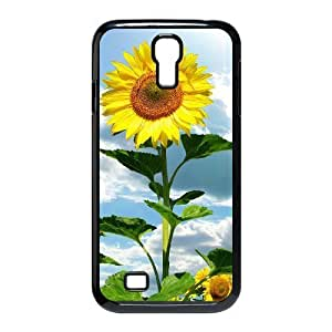 Cell phone Cases Of Sunflower Bumper Plastic Hard Case For Samsung Galaxy S4 i9500