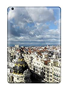 New Shockproof Protection Case Cover For Ipad Air/ Madrid City Case Cover