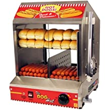 Paragon Hot Dog Hut Steamer Merchandiser for Professional Concessionaires Requiring Commercial Quality & Construction