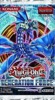 Yugioh Generation Force Booster 12 pack Lot