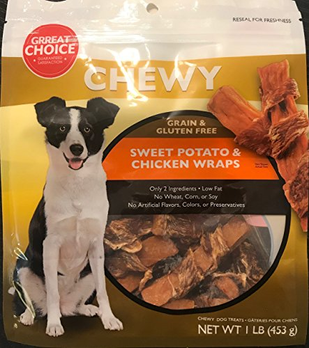 - Chewy Grain & Gluten Free Sweet Potato & Chicken Wraps
