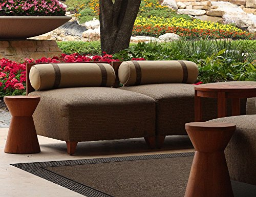 Brown Jordan Prime Label Patio Furniture Rug 9x12 Furman Collection Sisal Woven Modern Outdoor