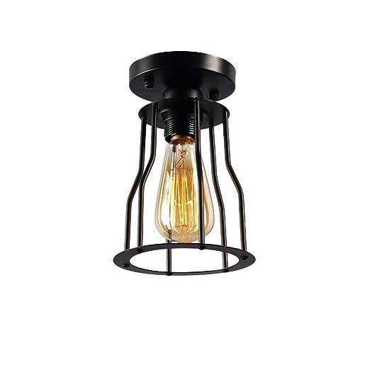 Amazon.com: Lámpara de techo semi empotrable para corredor ...