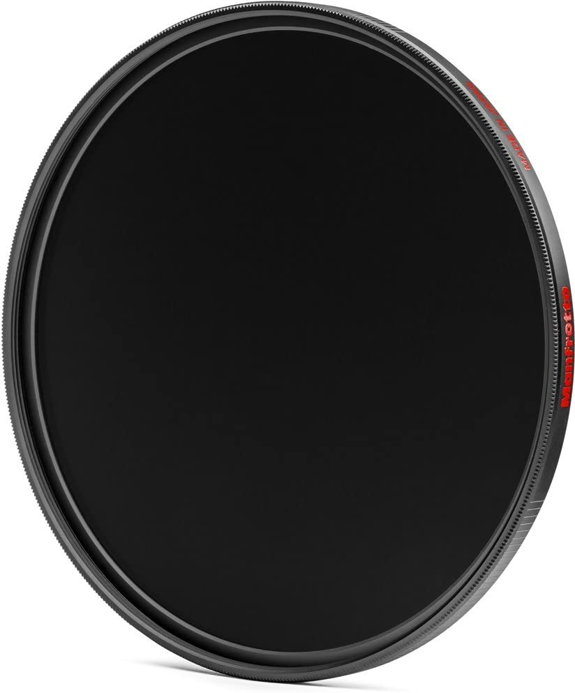 Grey Manfrotto MFND500-52 Circular Lens Filter with 9 Stop of Light Loss 52mm