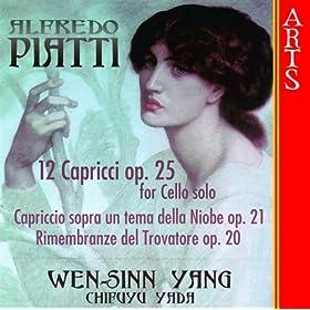 Amazon.com: 12 Capricci Op. 25 Per Violoncello Solo