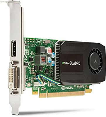 HP C2J92AA NVIDIA Kepler GK 107 GPU con 192 núcleos de CUDA 1GB - Tarjeta gráfica (NVIDIA, Quadro K600, 3840 x 2160 Pixeles, 1 GB, DDR3-SDRAM, 128 ...