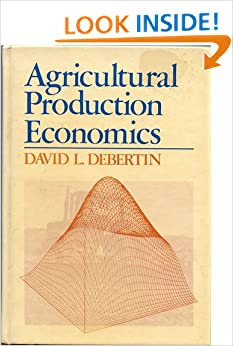Agricultural economics books free download