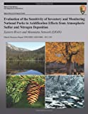Evaluation of the Sensitivity of Inventory and Monitoring National Parks to Acidification Effects from Atmospheric Sulfur and Nitrogen Deposition Eastern Rivers and Mountains Network (ERMN), T. J. Sullivan, 1491297654