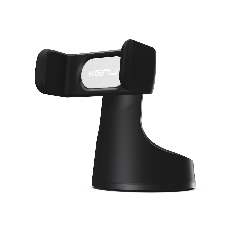 Kenu Airbase Pro | Premium Car Phone Mount | Android + iPhone Car Phone Holder for iPhone 11 Pro Max/11 Pro/11, iPhone Xs Max/Xs/XR/X, iPhone 8 Plus/8, iPhone 7 Plus/7, Samsung Phone Stand | Black by Kenu