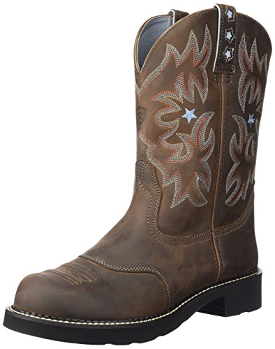 Western Cowboy Driftwood Probaby Ariat Boot Women's Brown 71w6nxAg