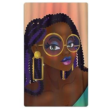 SARA NELL Toallas de Playa de Microfibra - Toalla de baño para Mujer Africana de Secado rápido ...