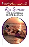 img - for The Demetrios Bridal Bargain book / textbook / text book