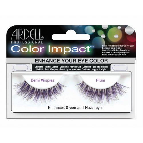 (6 Pack) ARDELL Color Impact False Lashes - Plum Demi Wispies]()