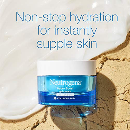Neutrogena Hydro Boost Hyaluronic Acid Hydrating Gel-Cream Face Moisturizer to Hydrate & Smooth Extra-Dry Skin, Oil-Free… 6