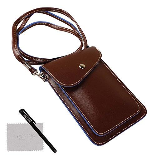 xhorizon TM SR Universal Multipurpose Elegant PU Leather Crossbody Single Shoulder Bag...