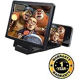 Harikrishnavilla 3D Video Eyes Protection Enlarged Mobile Screen Magnifier for Xiaomi, Lenovo, Apple, Samsung, Sony, Oppo, Gionee, Vivo Smartphones