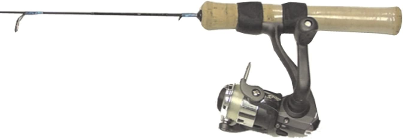 HT Snow Camo Ice Fishing Rod//Reel Combo