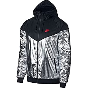 Nike Sportswear Windrunner Men's Metallic Jacket Hoodie Size 2XL