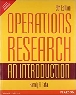 Operation Research Book By Taha