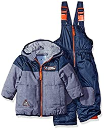 Wippette Boys\' Baby Yd Cire Snowsuit, Navy, 12 Months