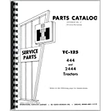 International Harvester 444 Tractor Parts Manual