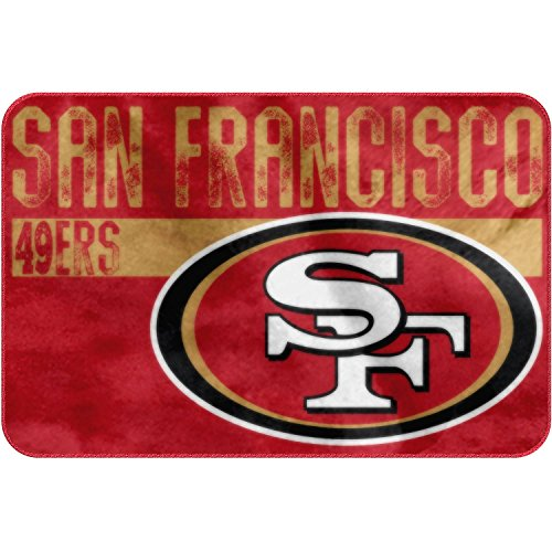 San francisco 49ers bath rugs price compare for 49ers bathroom decor