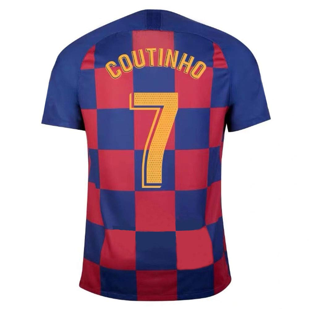 Schnell Trocknend Atmungsaktiv Philippe Coutinho #7 Herren Fu/ßball Trikot