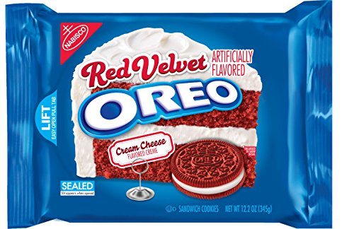 Oreo Red Velvet Sandwich Cookies, 12.2 Oz (Pack of 6) ()