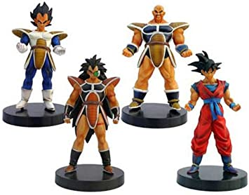 Dragon Ball - Pack Vegeta, Nappa, Radix y Son Goku (figuras 12cm ...
