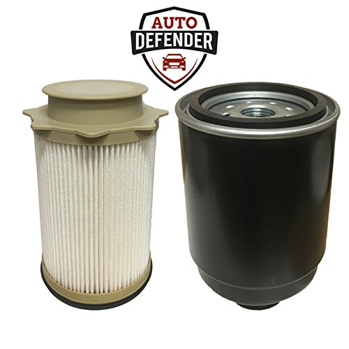 Auto Defender Fuel Filter Water Separator Set For Dodge Ram 6 7L Cummins Truck Turbo Engines