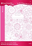 Best American Girl Crafts Books For 9 Year Old Girls - American Girl Crafts Doodle Design Sketchbook, Floral Review