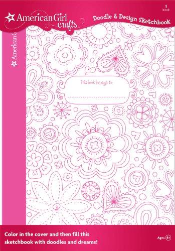 American Girl Crafts Doodle Design Sketchbook, Floral