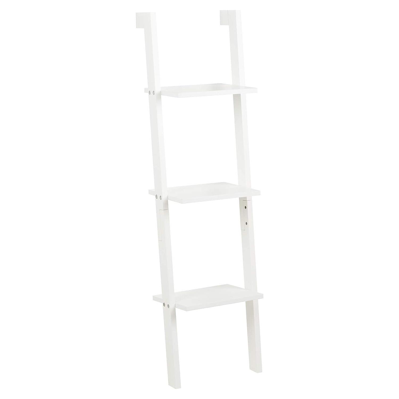 Hartleys White 3 Tier Ladder Shelf