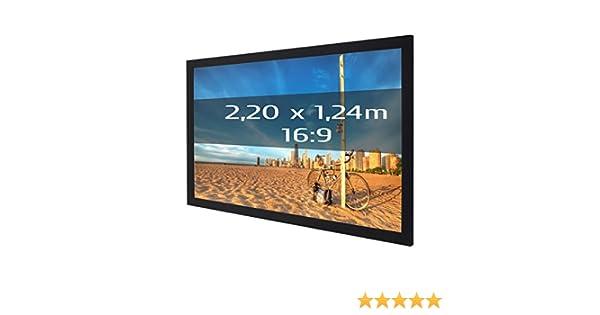 Kimex 3700685405387 - Pantalla de proyección fija con marco ...