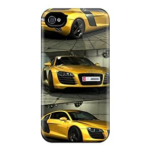Durable Audi R8 Back Case/cover For Case Cover For Ipod Touch 4