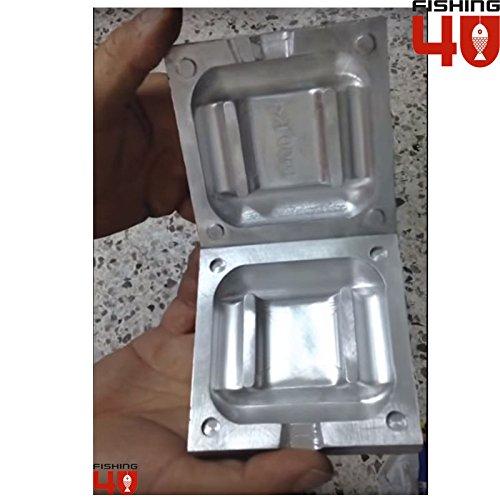 Buceo plomo peso molde 1000 gr/molde de plomo de pesca Sinker/CNC mecanizado: Amazon.es: Deportes y aire libre