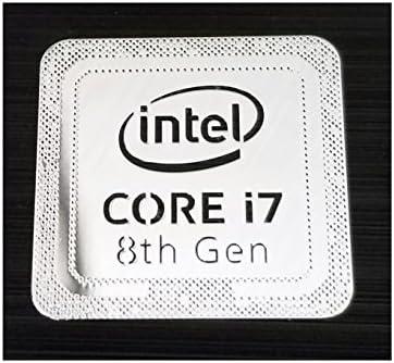 INTEL CORE i7 8th Gen CPU STICKER DECAL COMPUTER PC CASE BADGE