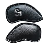 Craftsman Golf #3 #4 #5 #6 #7 #8 #9 AW SW PW LW Iron Headcovers Head Covers (SW)