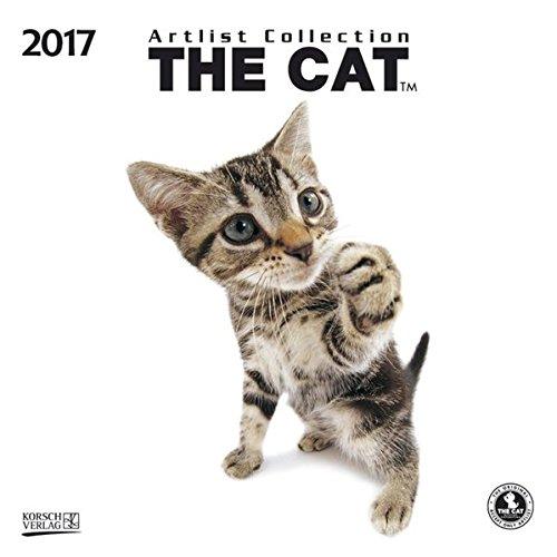The Cat 2017: Broschürenkalender mit Ferienterminen