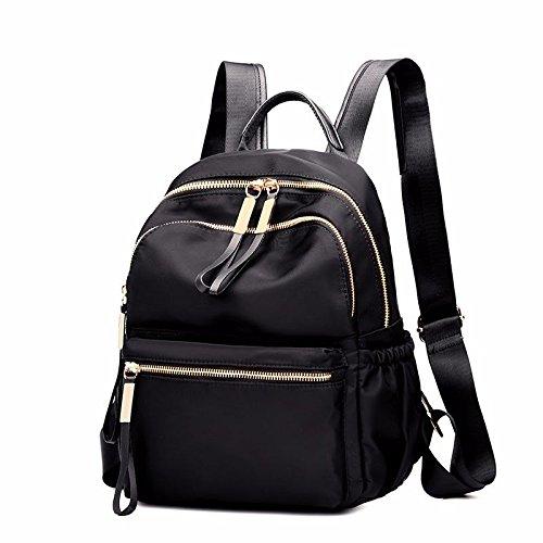 Mszyz Double Oxford Nylon Cloth Bag Women's Fashion Backpack