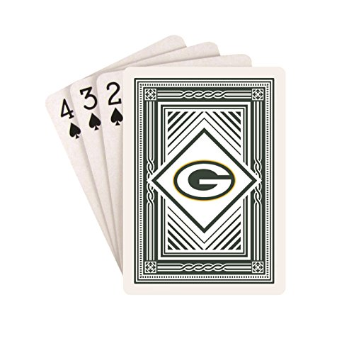 Pro Specialties Group Green Bay Packers Classic Team Logo Style Deck of Playing Cards NFL Football