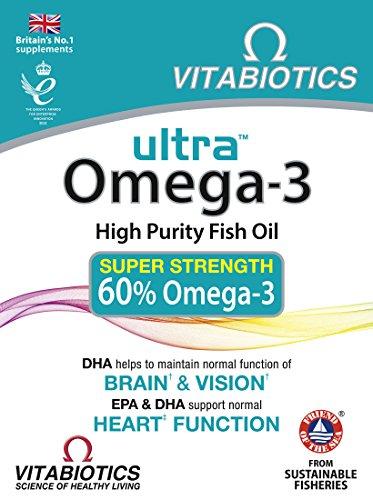 Vitabiotics - Ultra Omega-3-60 Capsules