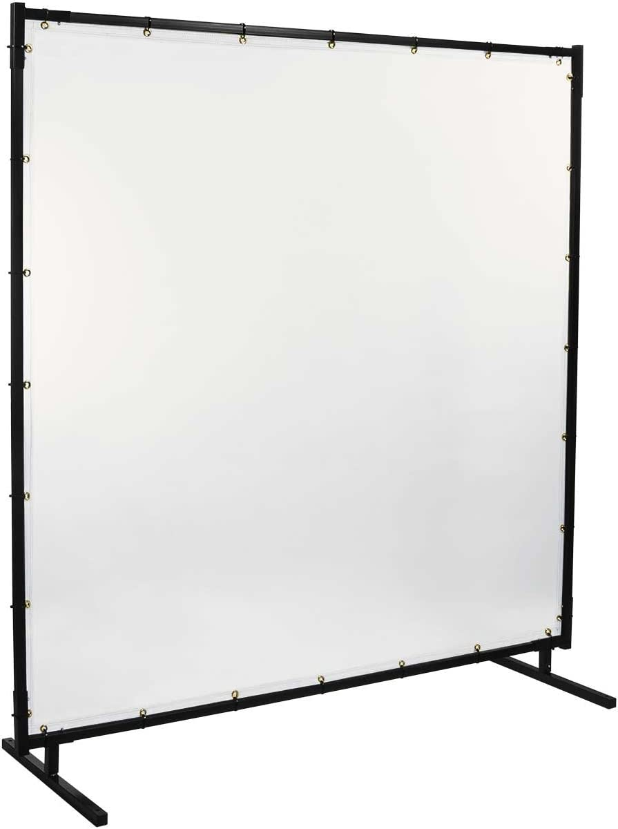 Clear Steiner 539HD-6X10 Protect-O-Screen HD Welding Screen with 16 Mil Vinyl Curtain 6 x 10