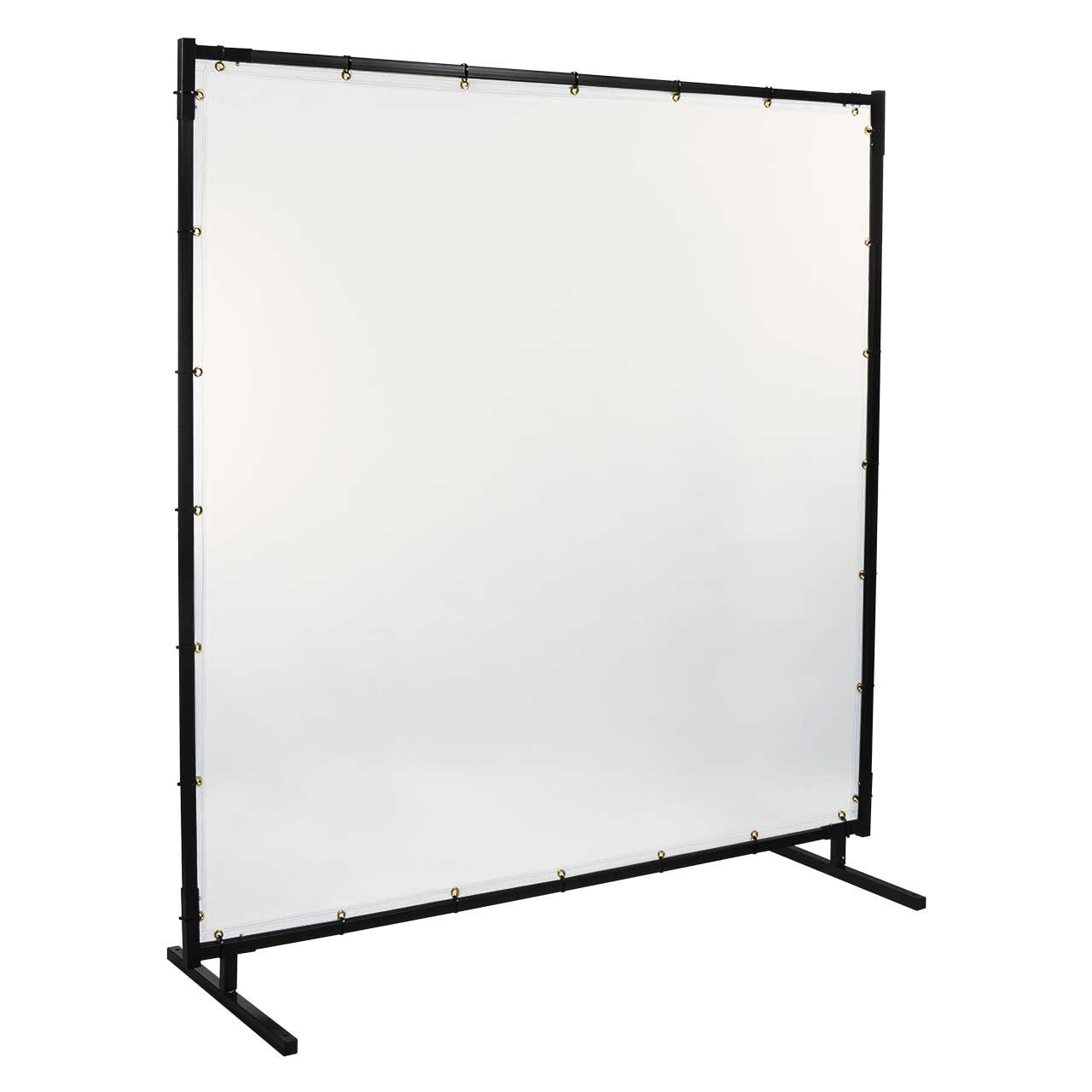 Steiner 539HD-4X6 Protect-O-Screen HD Welding Screen with 16 Mil Vinyl Curtain, Clear, 4' x 6'