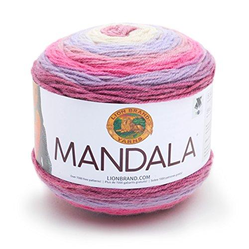 Lion Brand Yarn 525-200 Mandala Yarn, Wood Nymph