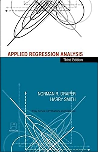Applied regression analysis 3rd edition wiley series in applied regression analysis 3rd edition wiley series in probability and statistics amazon norman r draper harry smith 9780471170822 books fandeluxe Choice Image